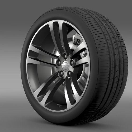 Chrysler 300 SRT8 Core wheel3D model