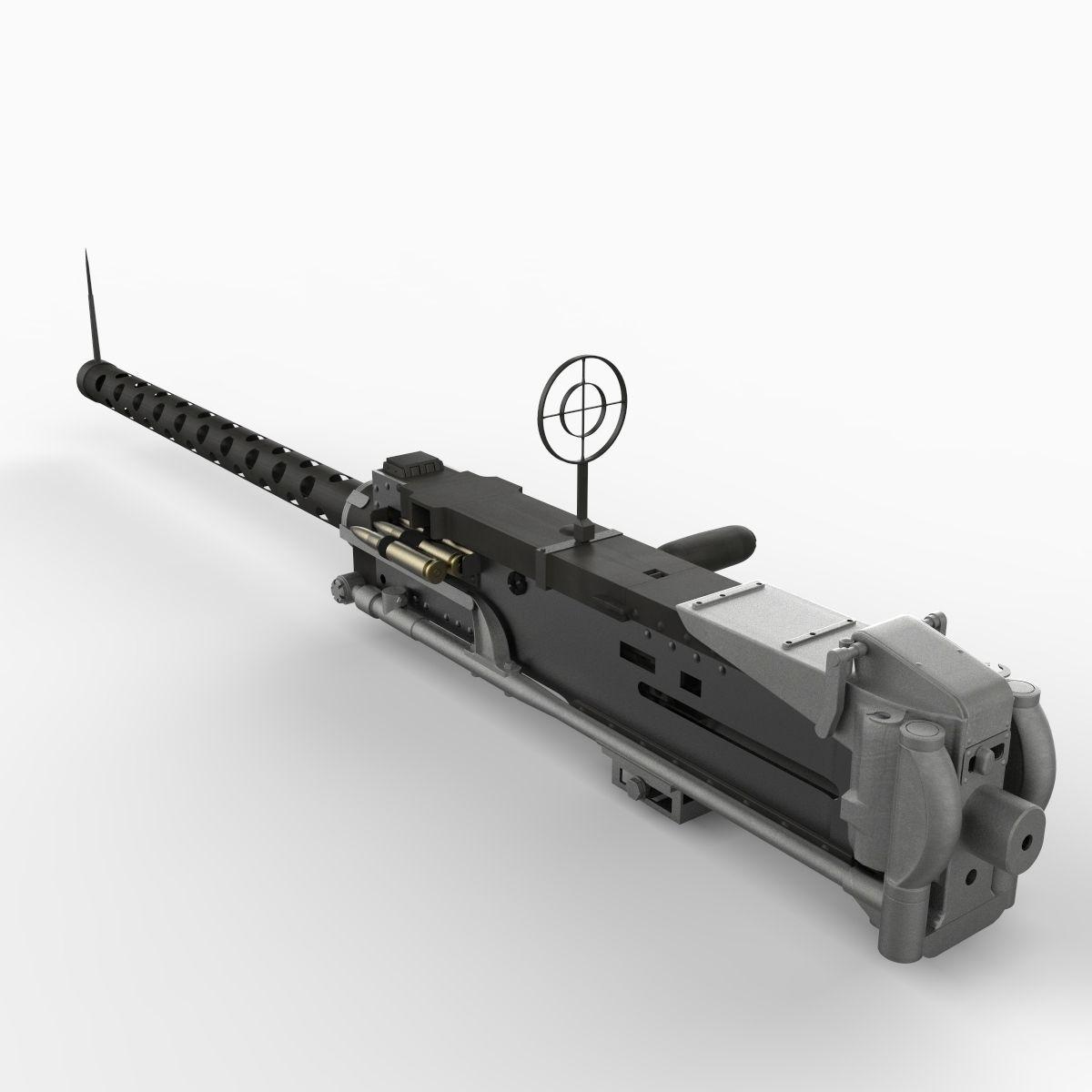 3d Gun Image 3d Home Architect: M2 Machine Gun 3D Model .max .obj .3ds .fbx .c4d .lwo .lw