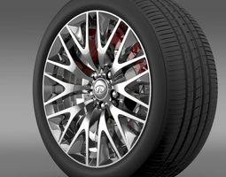 Infinity Ml wheel 3D
