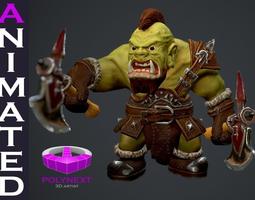 Orc Berserker 3D Model