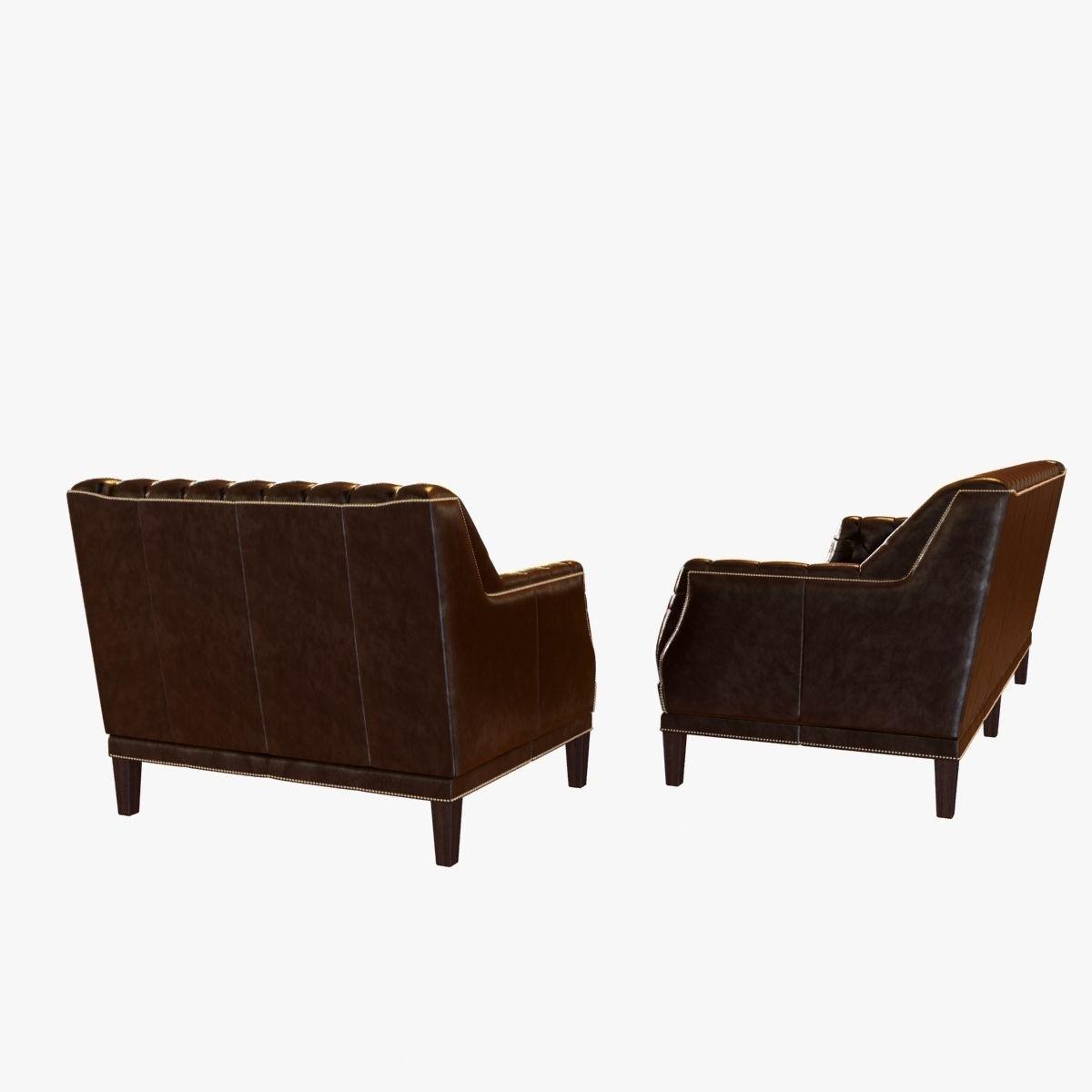 Bespoke custom sofa and chair 3d model max obj 3ds fbx for Sofa bespoke