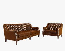 Bespoke custom sofa and chair 3D Model