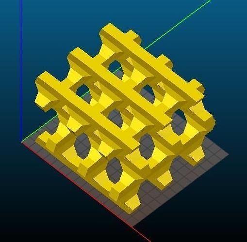bea-type zeolite 3d model stl 1