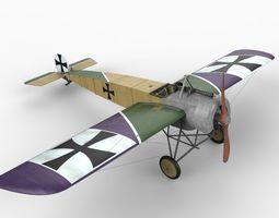 Fokker EIII 3D Model