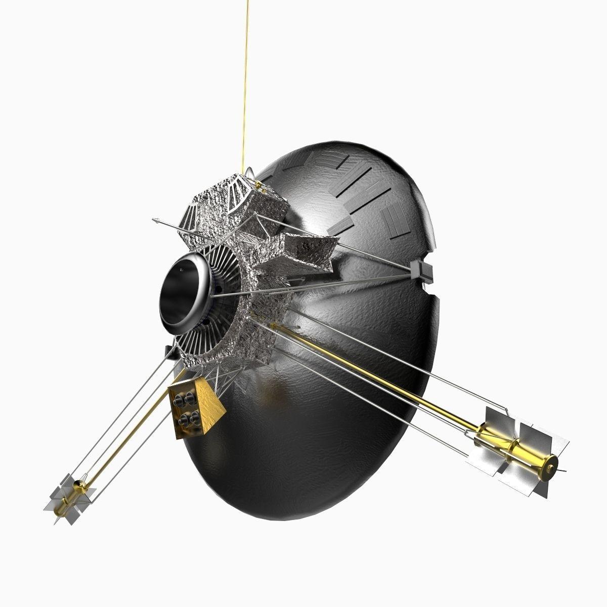 Pioneer 11 3D Model .max .obj .3ds .c4d .lwo .lw .lws .ma ...