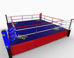 BoxingRing 3D Model