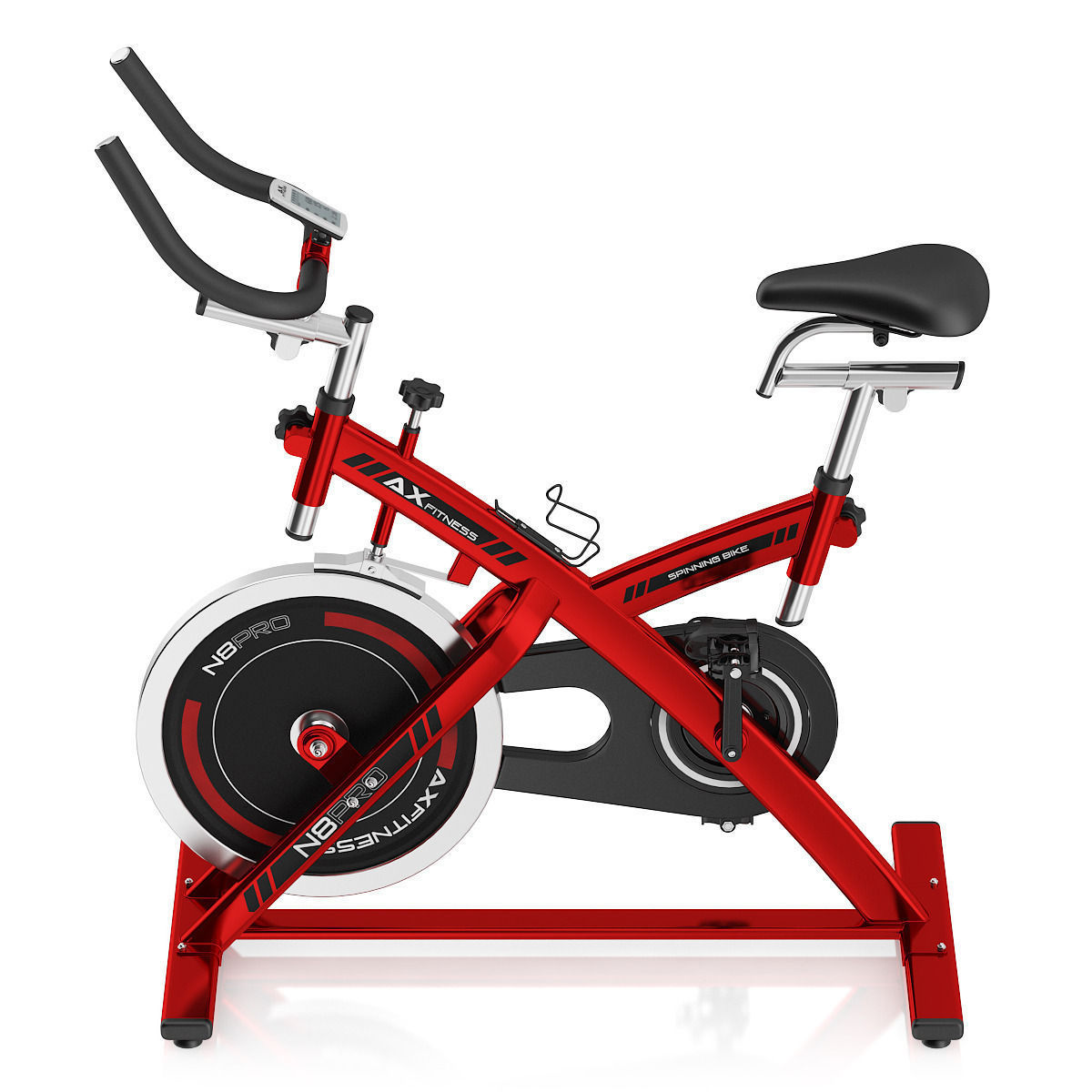 stationary spinning bike 3d cgtrader