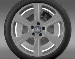 3d mercedes benz c 300 exclusive line wheel