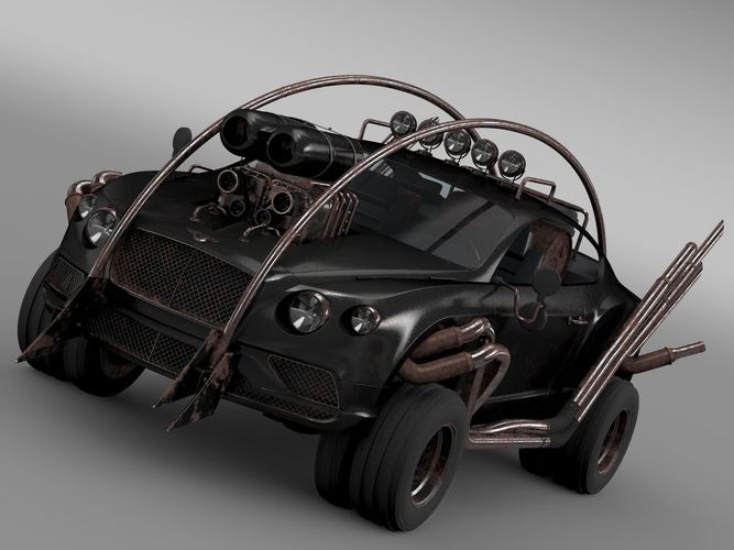 Mad Max Grizzly Bentley Continental GT 20153D model