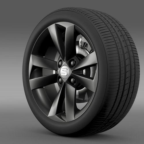 Seat Mii Vibora Negra wheel3D model