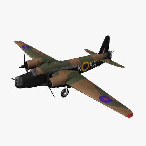 Vickers Wellington3D model