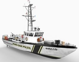 Patrol Boat 85 foot 3D Model