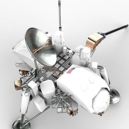 model of viking space probe - photo #12
