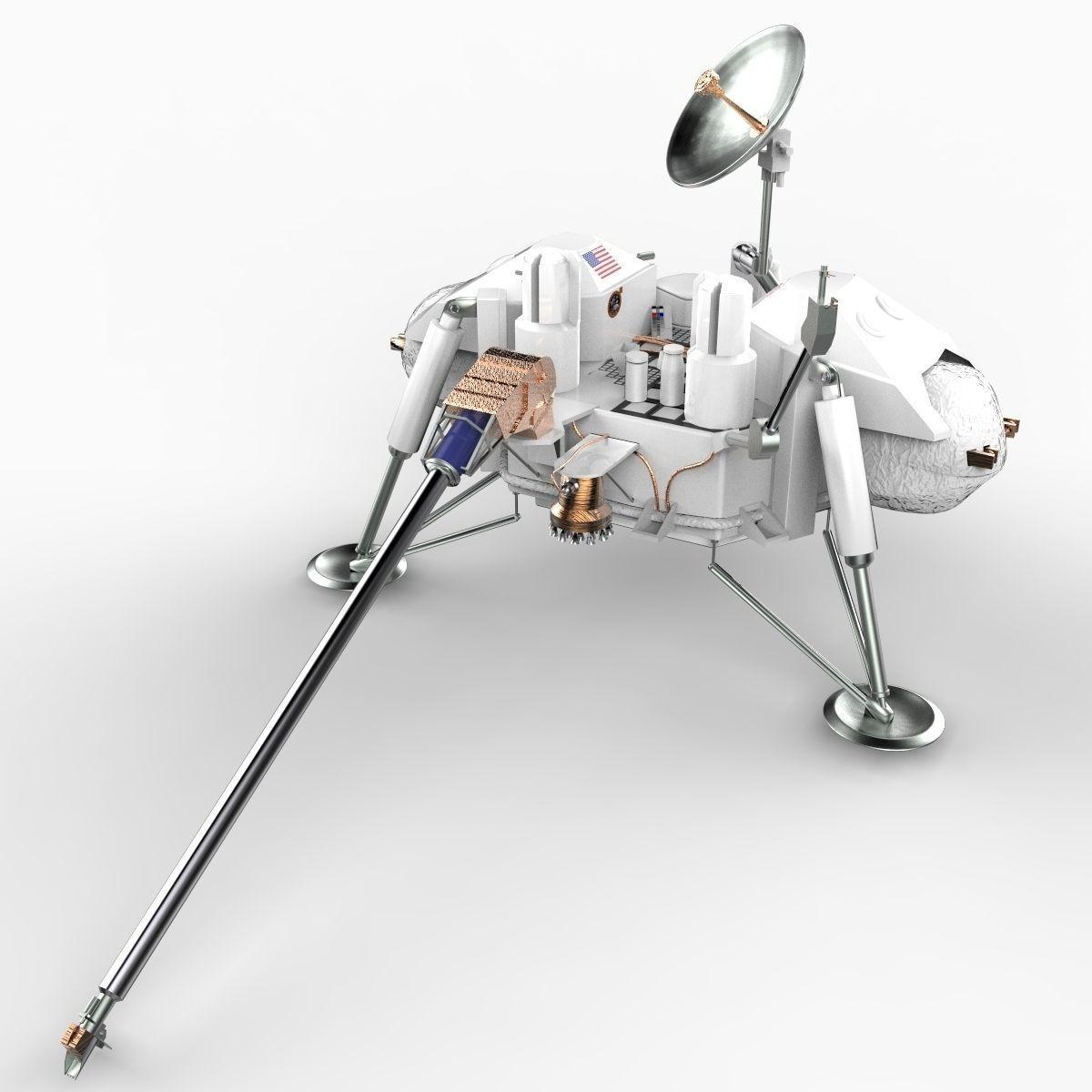 model of viking space probe - photo #13