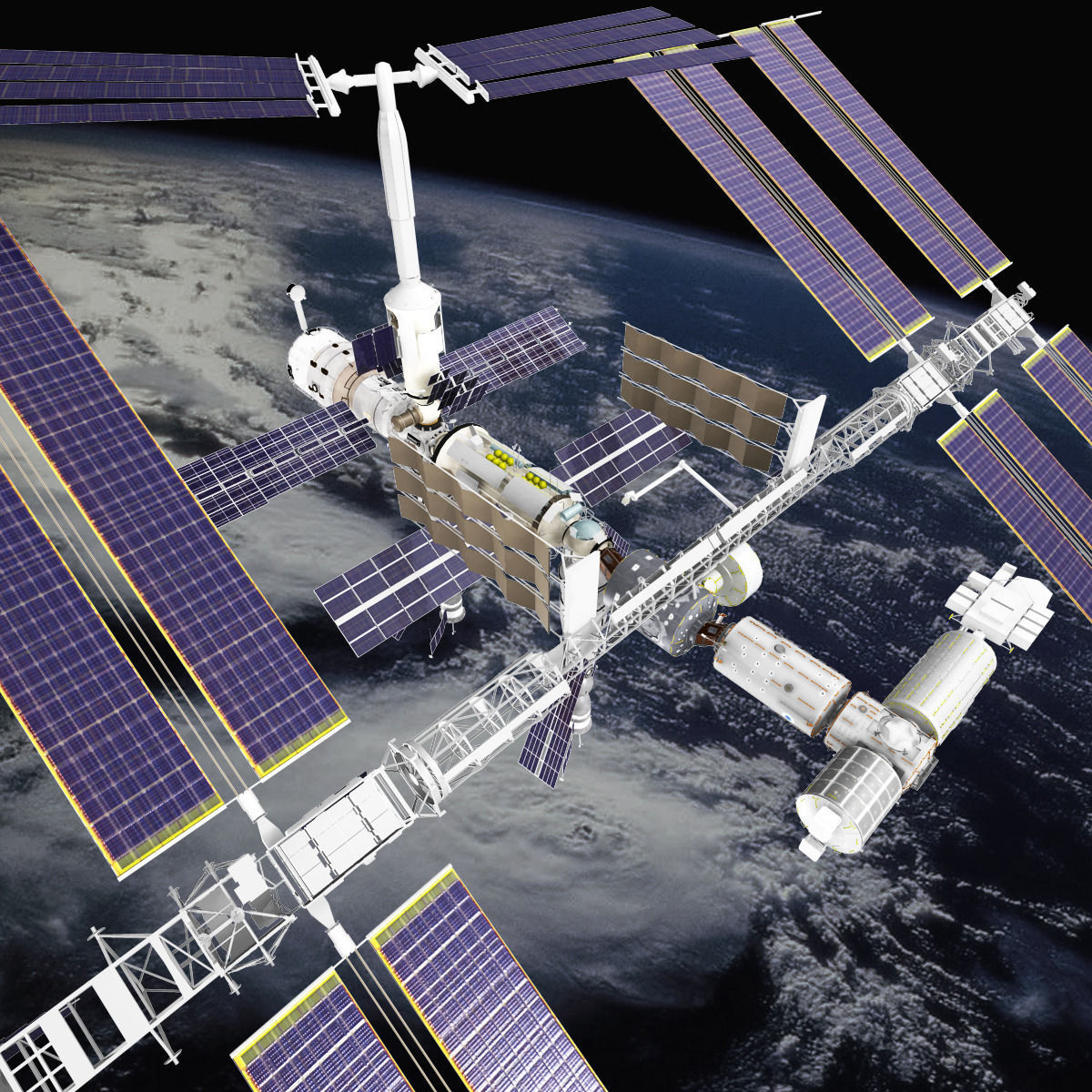 3d model international space station - photo #17