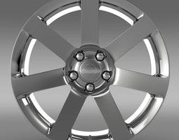 Chrysler 300 SRT8 rim 3D model