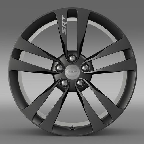 Chrysler 300 SRT8 Satin Vapor  rim3D model