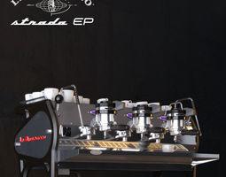 La Marzocco Strada Coffee machine 3D Model