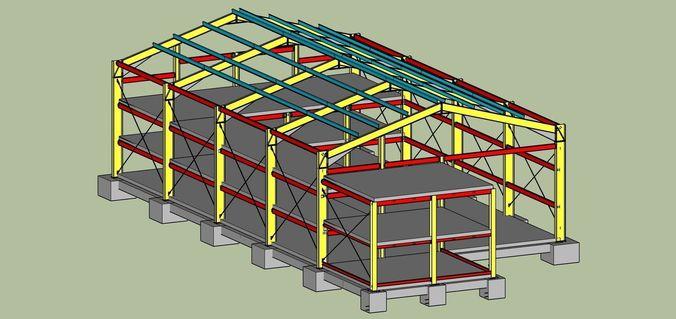 Persia Factory-013D model