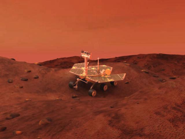 Mars Spirit Opportunity Rover 3D Model .max .obj .3ds .lwo ...