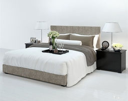 3d daily necessities design - fashion bed  13