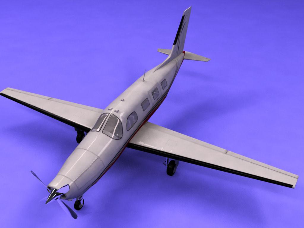 Piper Malibu 3d Model Max Obj 3ds C4d Lwo Lw Lws