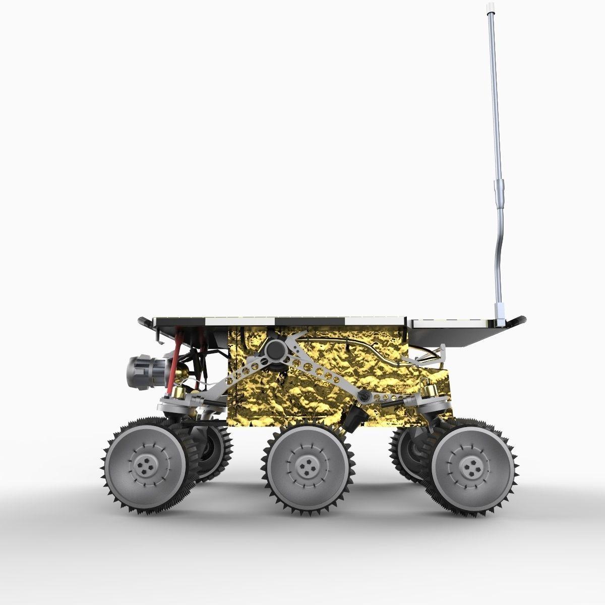 Mars Sojourner Pathfinder Rover 3D Model .max .obj .3ds ...
