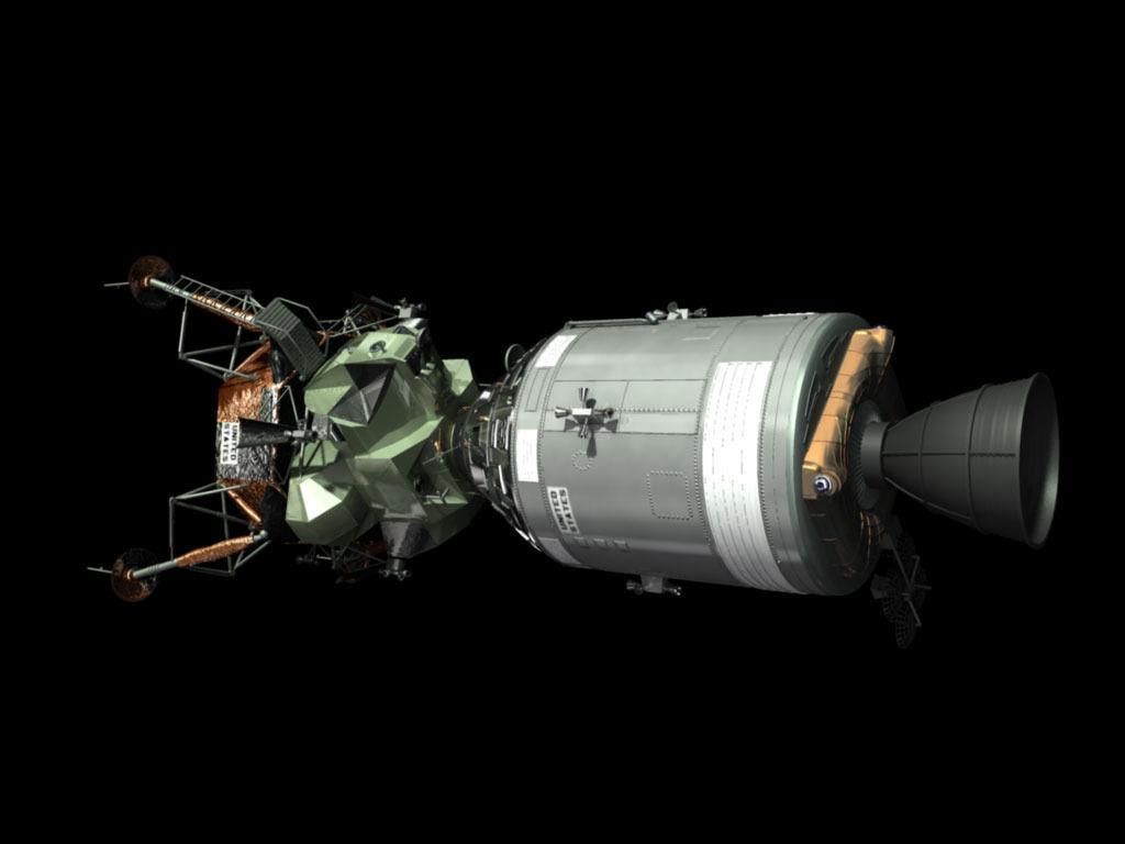 lunar module in space - photo #21