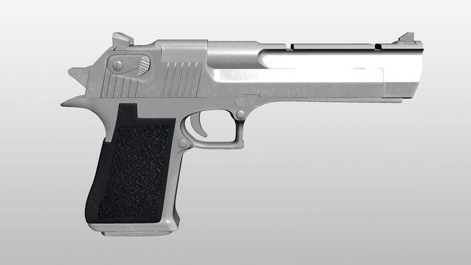 Desert Eagle3D model