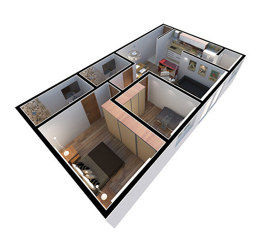 3d apartment cgtrader for The model apartment review