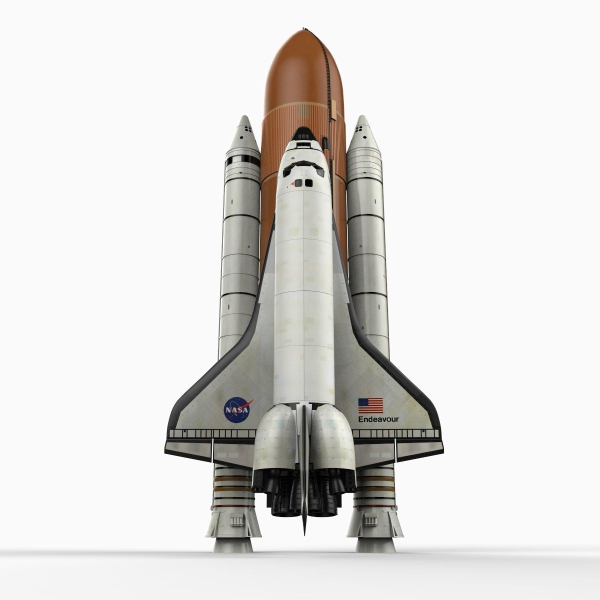 Space shuttle with delivery system 3d model max obj 3ds c4d lwo lw lws ma mb - Small space shuttle model ...