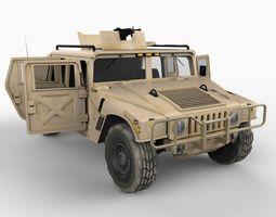 HMMWV Desert Storm 3D Model