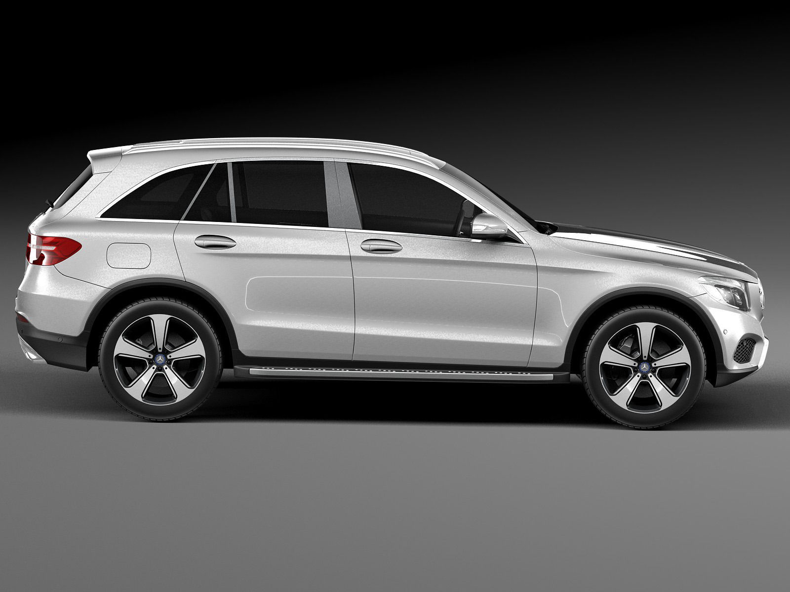 Mercedes Benz Glc 2016 3d Model Max Obj 3ds Fbx C4d