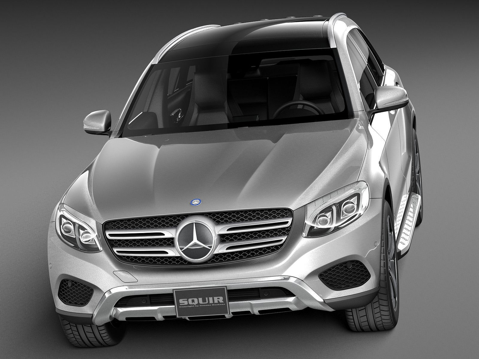 Mercedes benz glc 2016 3d model max obj 3ds fbx c4d for 2014 mercedes benz glc