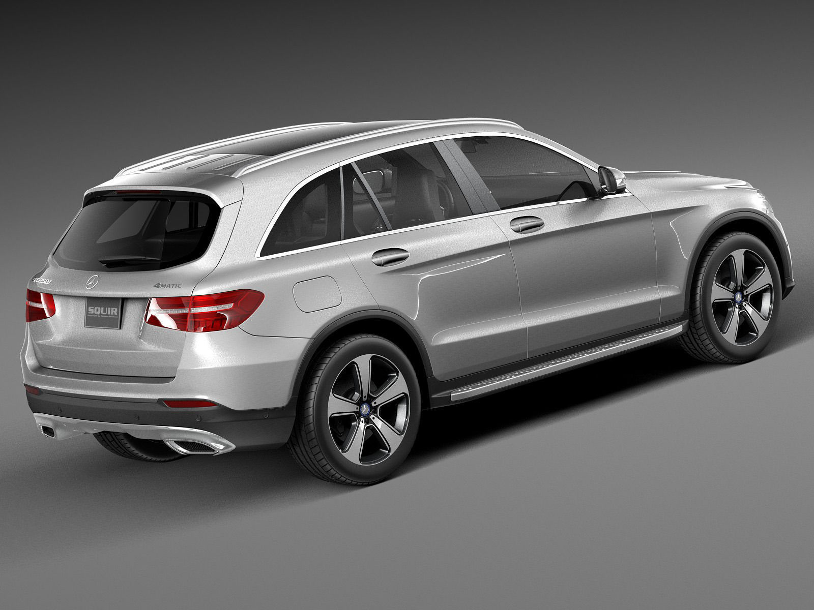Mercedes benz glc 2016 3d model max obj 3ds fbx c4d lwo lw for Mercedes benz suv models
