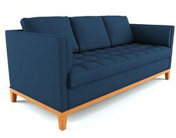 Pearson tufted sofa 3D Model