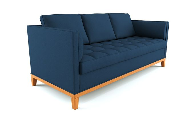 Pearson tufted sofa3D model
