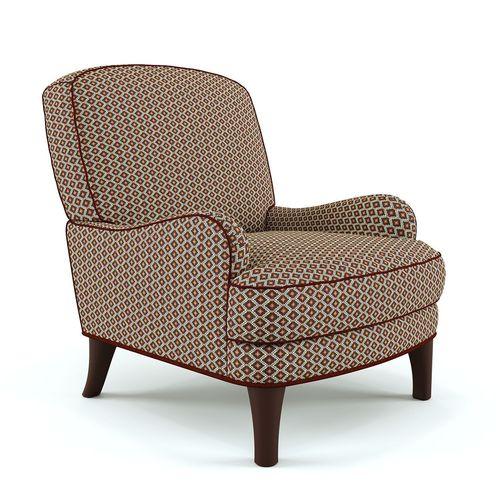Soft armchair3D model