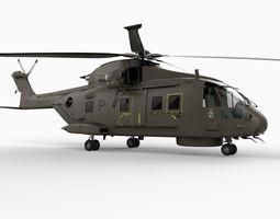 Augusta Westland EH101 Merlin 3D Model