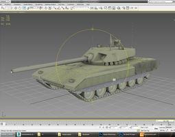 Armata T-14 3D Model