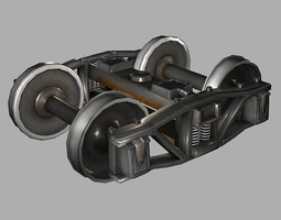 Train Bogie 3D model
