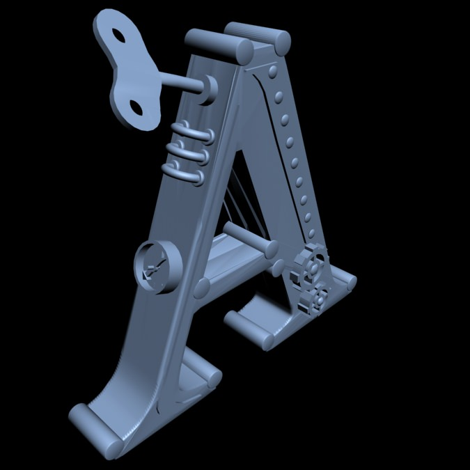 Print Ready STEAMPUNK Alphabet Bookend Let... Free 3D