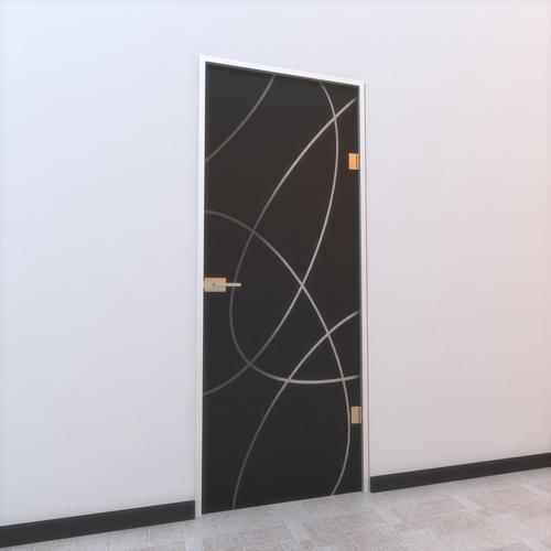 Glass Door Z 0023D model