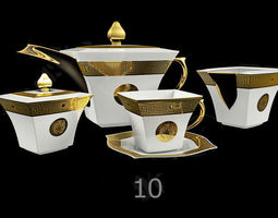 3D model Tableware teapot