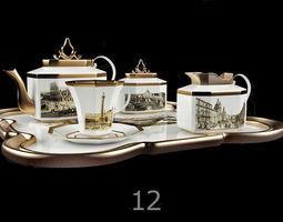 3D model tableware Tableware