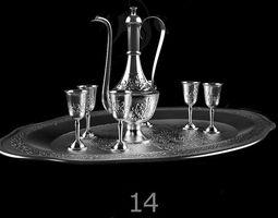 3D model kettle Tableware