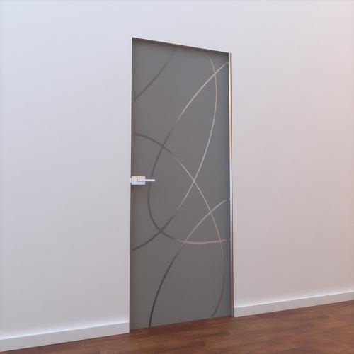 Glass Door L 0023D model