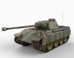 Panther D Tank 3D Model