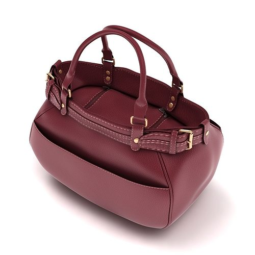9f2d1fbc13 ladies hand bag 03 3d model max obj mtl 3ds fbx c4d lwo lw lws 1 ...