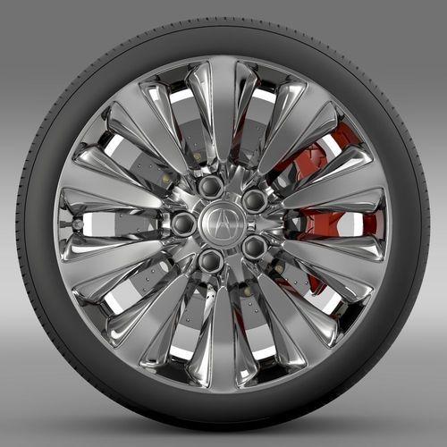 Acura RLX Sport Hybrid wheel3D model